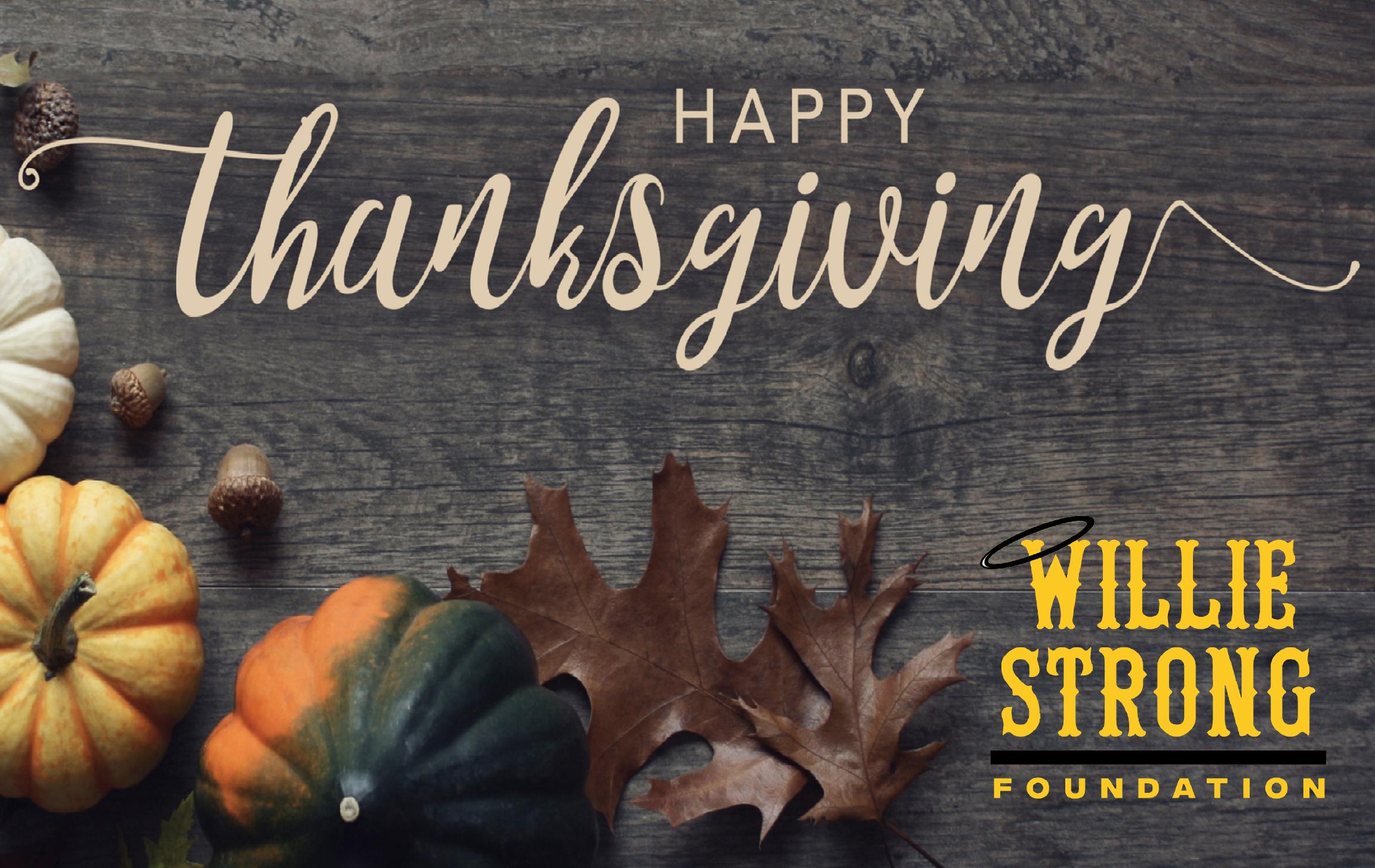 Willie Strong Foundation Newsletter November 2020